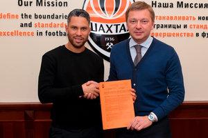 "Марлос продлил контракт с ""Шахтером"" до 2021 года"