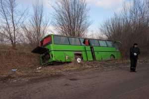Автобус Одесса - Днепр слетел с трассы: аварийные сутки