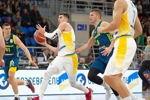 Сборная Украины громит чемпиона Европы Словению в отборе на ЧМ-2019