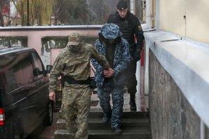 Захваченных Россией украинских моряков вывозят из симферопольского СИЗО – Чийгоз