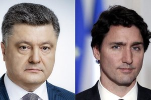 Порошенко и Трюдо обсудили российскую агрессию в Азовском море
