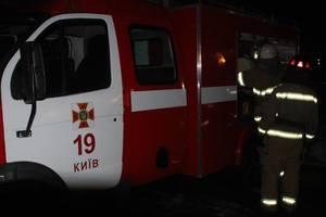 В Киеве загорелась типография, огонь тушили 34 пожарных