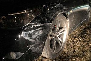 В Запорожской области водитель BMW насмерть сбил пешехода и сбежал