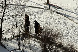 Киевляне на выходных встретят первый зимний снежный циклон