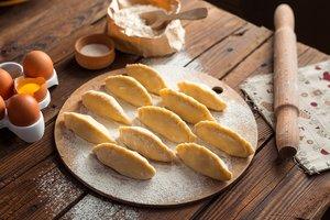 Лучшие рецепты: вареники с халвой от Алексея Суханова