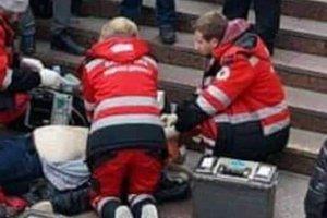 Студент-медик в Киеве пытался спасти умирающего мужчину