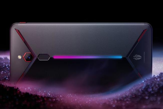 The Nubia Red Magic Mars features a 10GB operating memory and RGB podspace. Photo: Nubia
