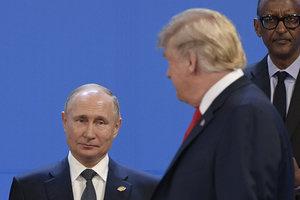 """Трамп пообещал встретиться с Путиным """"в подходящее время"""""""