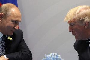 """""""Короткий контакт был"""": Трамп все-таки пообщался с Путиным во время G20"""