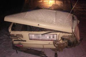 В Харьковской области пьяный мужчина угнал легковушку и попал в ДТП