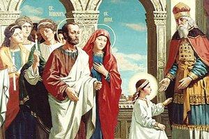 Введение во храм Пресвятой Богородицы: что нельзя делать в этот день