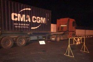 """В Одесском порту обнаружили """"фонящий"""" контейнер"""