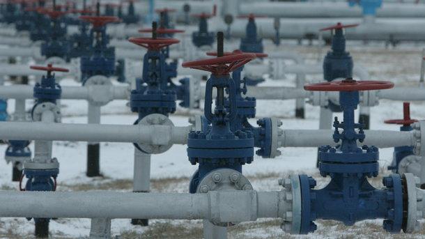 Объем газа вПХГ Украины уменьшился  до16 млрд кубометров
