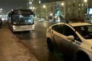 В Запорожье маршрутка протаранила автобус: пострадали четверо пассажиров