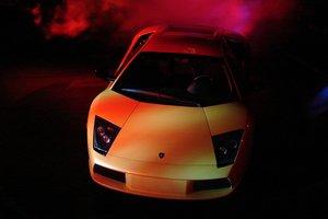 Радостный мажор чуть не сжег свою Lamborghini: курьезное видео