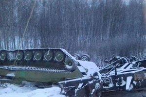 Крушение военного эшелона в России: в ВСУ указали на один важный момент (фото)
