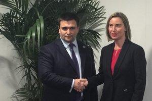 Могерини обещает дополнительную помощь Украине