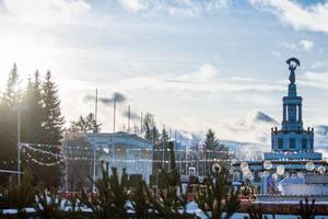 На новогодние праздники в Киеве открывается огромный парк развлечений