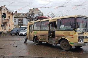 В Бердянске рейсовый автобус сбил женщину