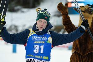 Йоханнес Тингнес Бё с промахом выиграл спринт