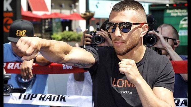Украинский боксер Ломаченко победил Педрасу изавоевал еще один чемпионский пояс