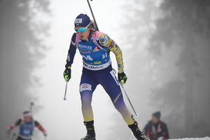 Женский спринт на Кубке мира по биатлону: стартовые номера украинок