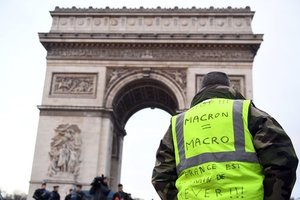 """Протесты """"желтых жилетов"""" во Франции: число задержанных возросло до 1726 человек"""