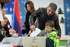 В Армении завершились внеочередные выборы в парламент