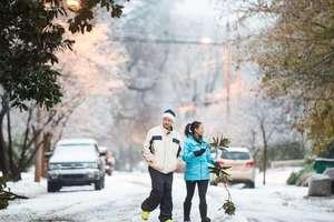 В США тысячи человек остались без света из-за мощного снежного шторма
