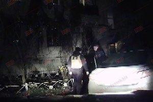 В Бердянске полицейские устроили ночную погоню: опубликованы фото и видео