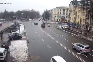 В центре Киева депутат с ребенком попала в ДТП
