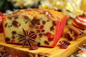 Как приготовить английский фруктовый кекс на католическое Рождество