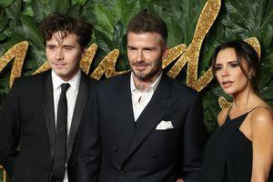 Семейство Бекхэмов блистало на The Fashion Awards 2018