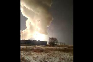 В России сразу после запуска взорвалась ракета: появилось видео