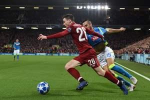 """""""Наполи"""" проиграл """"Ливерпулю"""" и остался за бортом Лиги чемпионов. Фото AFP"""