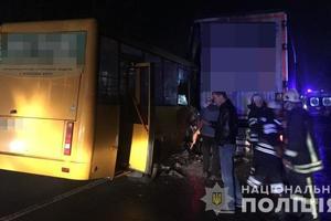 ДТП с маршруткой в Киеве: один пострадавший умер