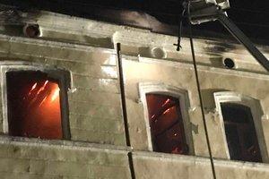 Самый масштабный за последние 20 лет: в Черновцах всю ночь тушили пожар