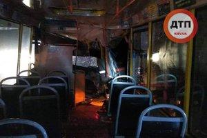 Объявлено о подозрении водителю маршрутки, попавшей в ДТП под Киевом