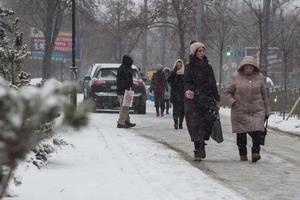 Погода в Киеве: праздник Андрея Первозванного горожане встретят со снегопадом