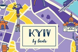 В Киеве презентуют уникальный англоязычный гид по украинской столице KyivByLocals