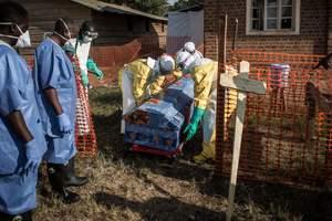 Число заболевших лихорадкой Эбола в Конго превысило 500 человек