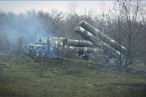 Военные показали, как защищают небо Украины: видео учений ЗРК С-300
