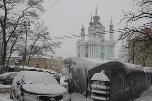 В Андреевской церкви провели первую службу Вселенского патриархата