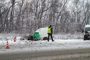 В Тернопольской области из-за непогоды произошли два жутких ДТП
