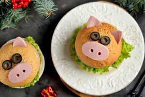 Блюда в виде свинки: лучшие идеи на Новый 2019