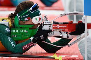 Украинки не попали в топ-20 спринтерской гонки в Хохфильцене