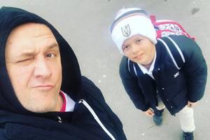 Потап поделился милым фото, где изображен с подросшим сыном