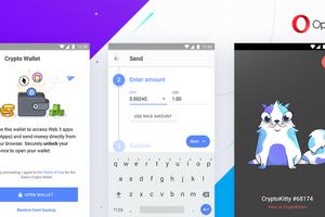 Opera выпустила первый Android-браузер с поддержкой Web 3 и криптокошельком Ethereum