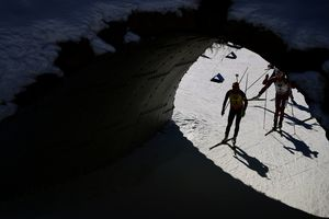 Российским биатлонистам запрещено покидать Австрию
