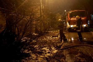 В Одессе произошел масштабный пожар в заброшенном доме: погиб мужчина
